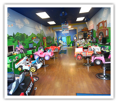 Enjoy a great haircut and a bit of fun too at Locks of Fun on Lincolnway in Valparaiso, Indiana